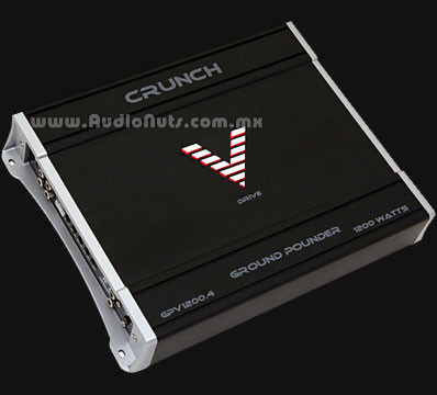 Amplificador Crunch Ground Pounder GPV1200.4