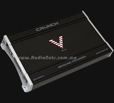 Amplificador Crunch Ground Pounder GPV2100.1