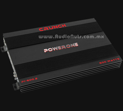 Amplificador Crunch Powerone P1-600.2
