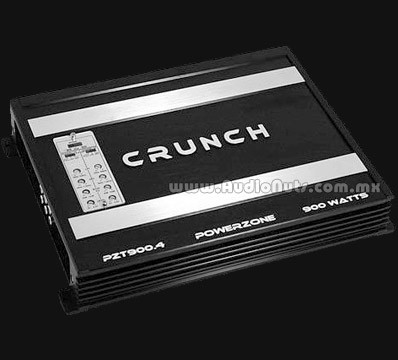 Amplificador Crunch PowerZone PZT900.4