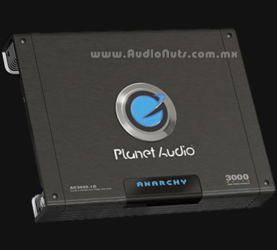 Amplificador Planet Audio Anarchy AC3000.1D