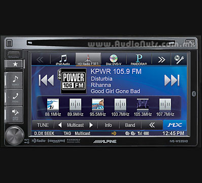 Auto Stereo Alpine IVE-W535HD