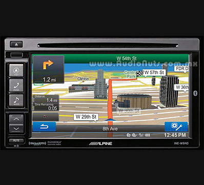 Auto Stereo DVD Alpine INE-W940 Touch Screen
