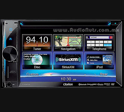 Auto Stereo DVD GPS Clarion 2012 NX602