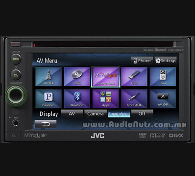 Auto Stereo DVD JVC 2013 KW-NSX1