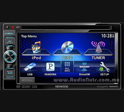 Auto Stereo DVD Doble Din Kenwood 2013 DDX370