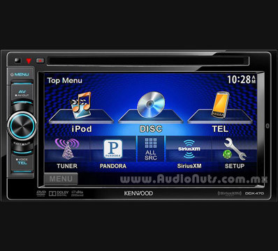 Auto Stereo DVD Doble Din Kenwood 2013 DDX470