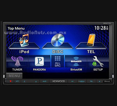 Auto Stereo DVD Doble Din Kenwood 2013 DDX770