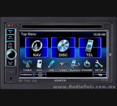 Auto Stereo Kenwood DDX418