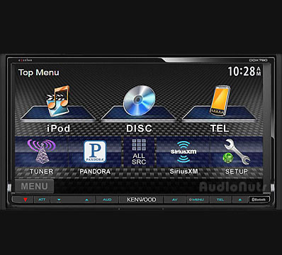 Auto Stereo DVD Doble Din Kenwood 2013 DDX790