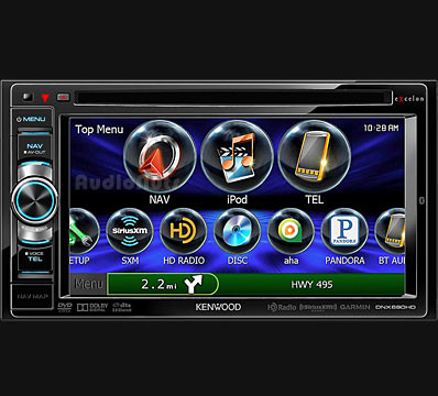 Auto Stereo DVD Doble Din Kenwood 2013 DNX690HD