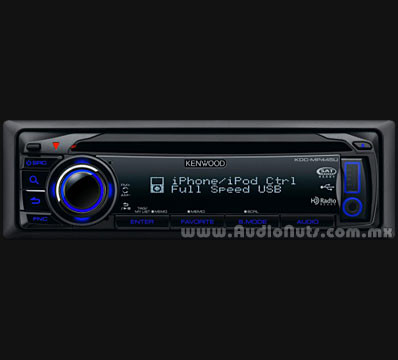 Auto Stereo Kenwood KDC-MP445U