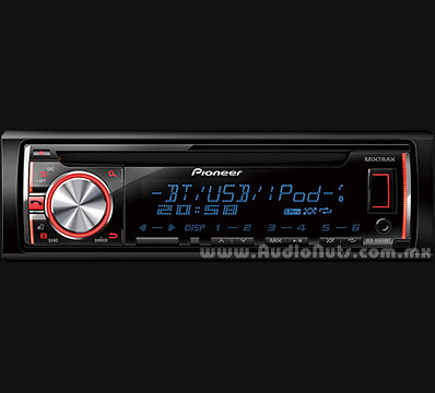 Auto Stereo CD / MP3 / USB / Bluetooth Pioneer 2014 DEH-X6650BT
