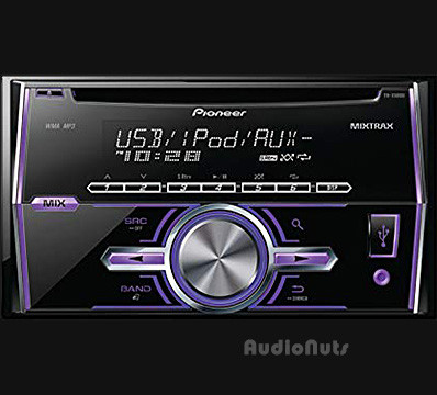 Auto Stereo Doble Din CD / MP3 / USB Pioneer 2014 FH-X500UI