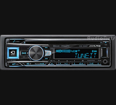 Autostereo Alpine CDE-163BT Radio USB Bluetooth