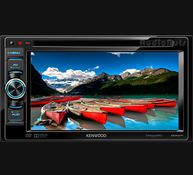 Autoestereo touch screen Kenwood DDX271