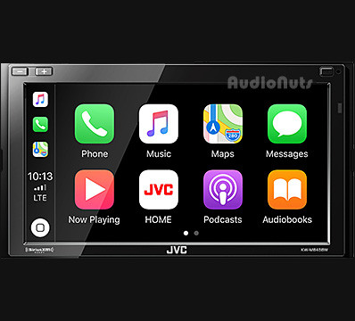 Autoestereo Multimedia Doble Din JVC 2018 KW-M845BW