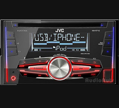 Autoestereo JVC KW-R710 Doble Din USB