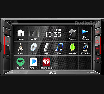 Autoestereo Multimedia Doble Din JVC 2018 KW-V240BT