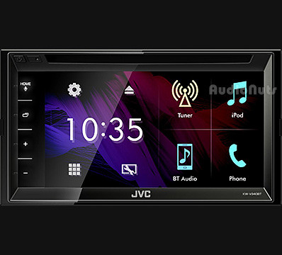 Autoestereo Multimedia Doble Din JVC 2018 KW-V340BT