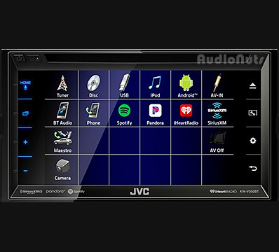 Autoestereo Multimedia Doble Din JVC KW-V350BT