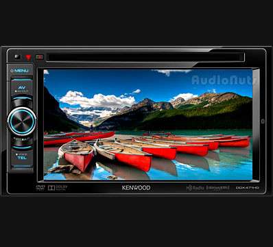 Autoestereo Touch Screen Kenwood DDX471HD