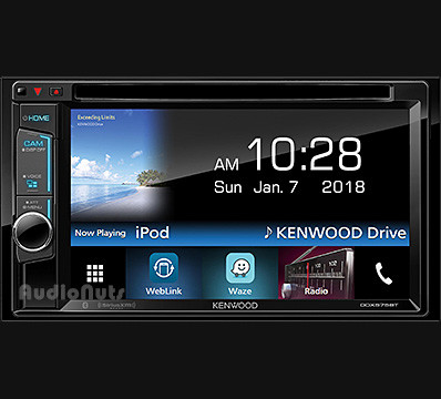 Autoestereo DVD Doble Din Kenwood DDX575BT