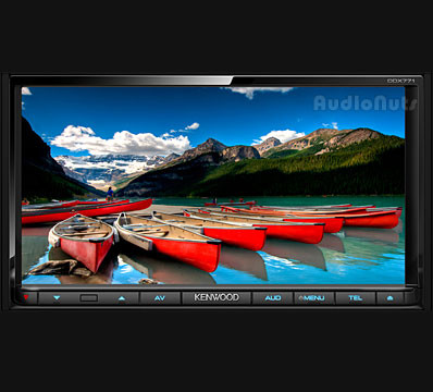 Autoestereo Touch Screen Kenwood DDX771