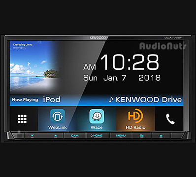 Autoestereo DVD Doble Din Kenwood DDX775BH