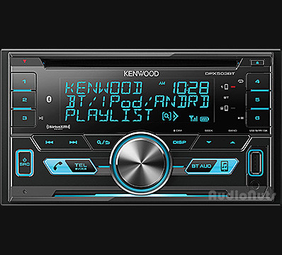 Autoestereo Doble Din Kenwood DPX503BT