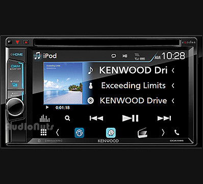 Autoestereo DVD Doble Din Kenwood EXCELON DDX595