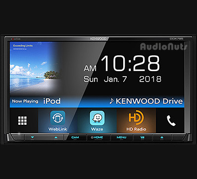 Autoestereo DVD Doble Din Kenwood EXCELON DDX795