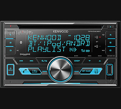 Autoestereo Doble Din Kenwood eXcelon DPX593BT