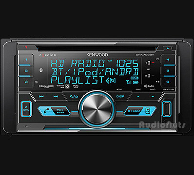 Autoestereo Doble Din Kenwood eXcelon DPX793BH