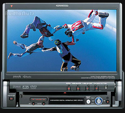 Autoestereo Kenwood KVT-617DVD Touch Screen