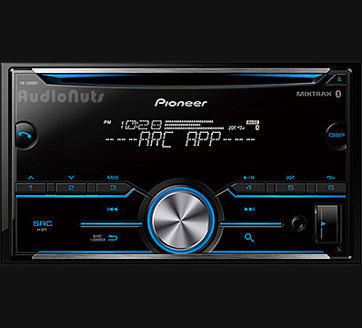 Autoestereo Doble Din Pioneer FH-S505BT