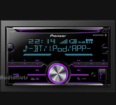 Autoestereo Doble Din Pioneer FH-S705BT