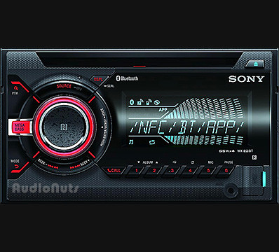 Autoestereo CD Doble Din Sony 2017 WX-850BT